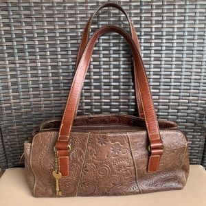 FOSSIL 🔑 Brown Leather Purse